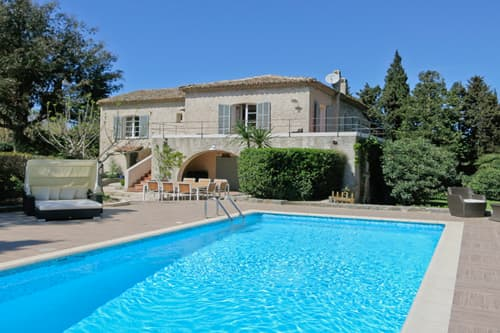 Rental villa in Provence with private pool