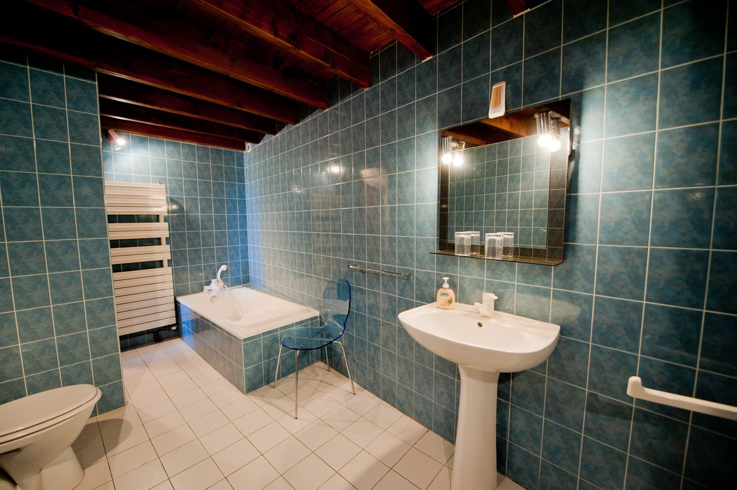 Bathroom in South West France self-catering home