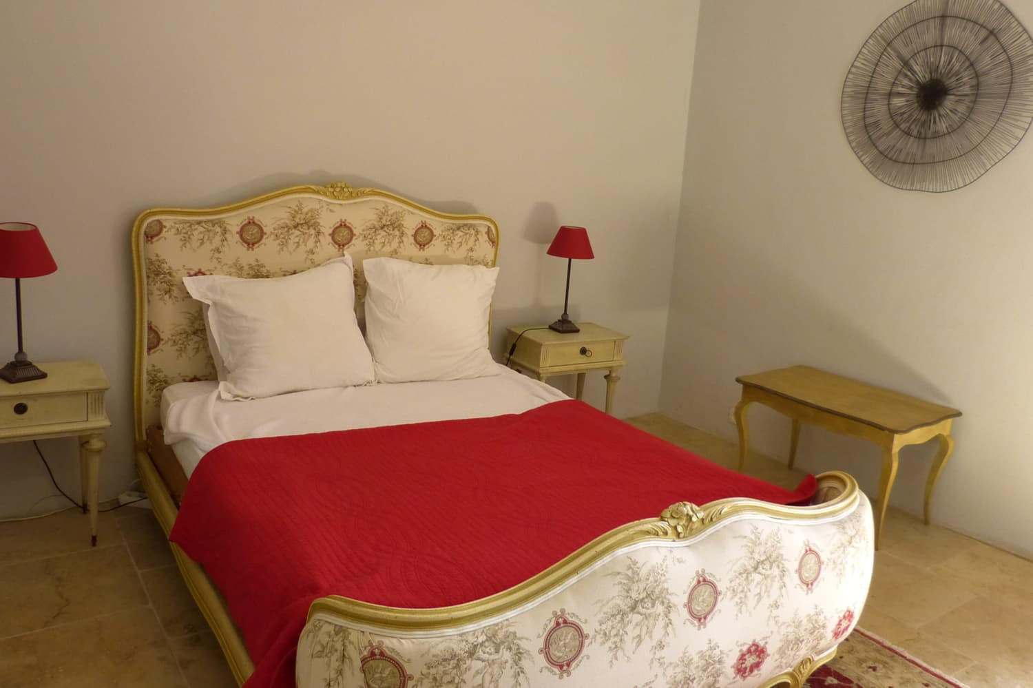 Bedroom in Provence holiday accommodation