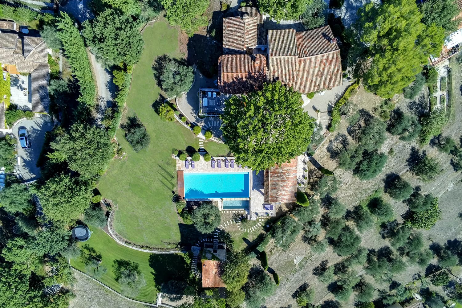 Holiday accommodation with private, heated pool in Montauroux, Provence-Alpes-Côte d'Azur