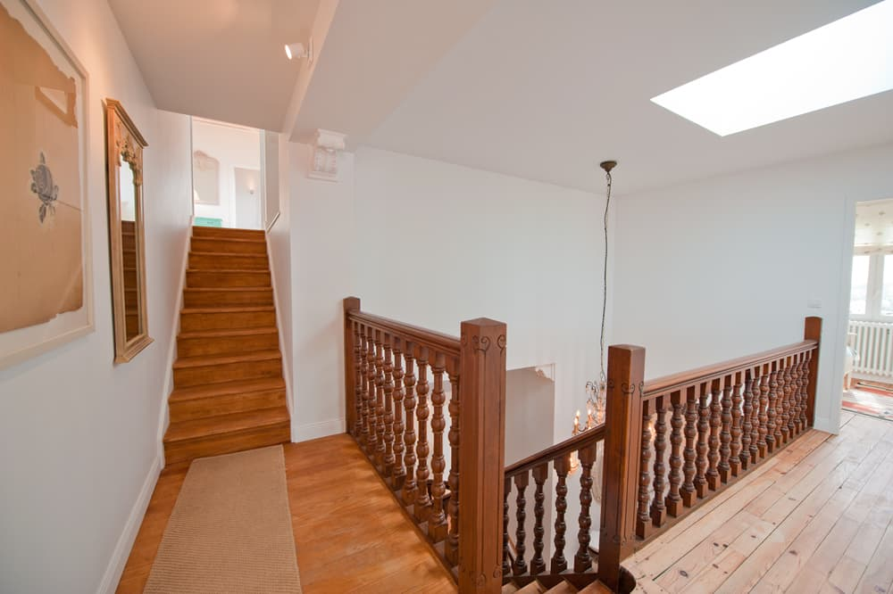 Staircase in Biarritz holiday villa