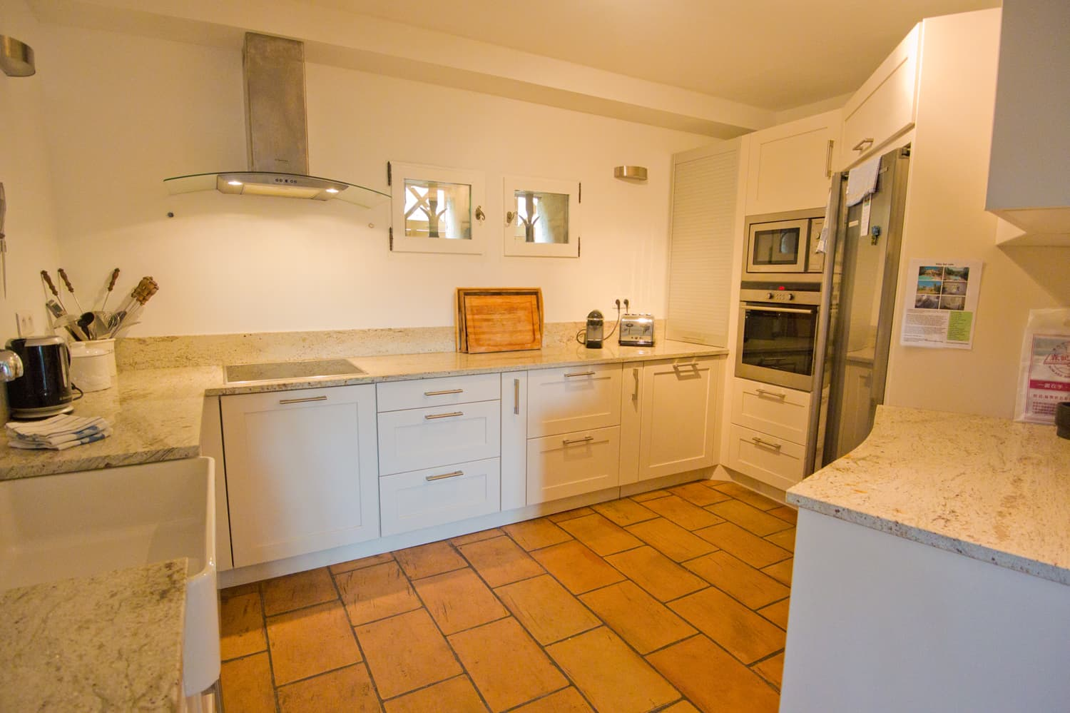 Kitchen in Provence holiday home