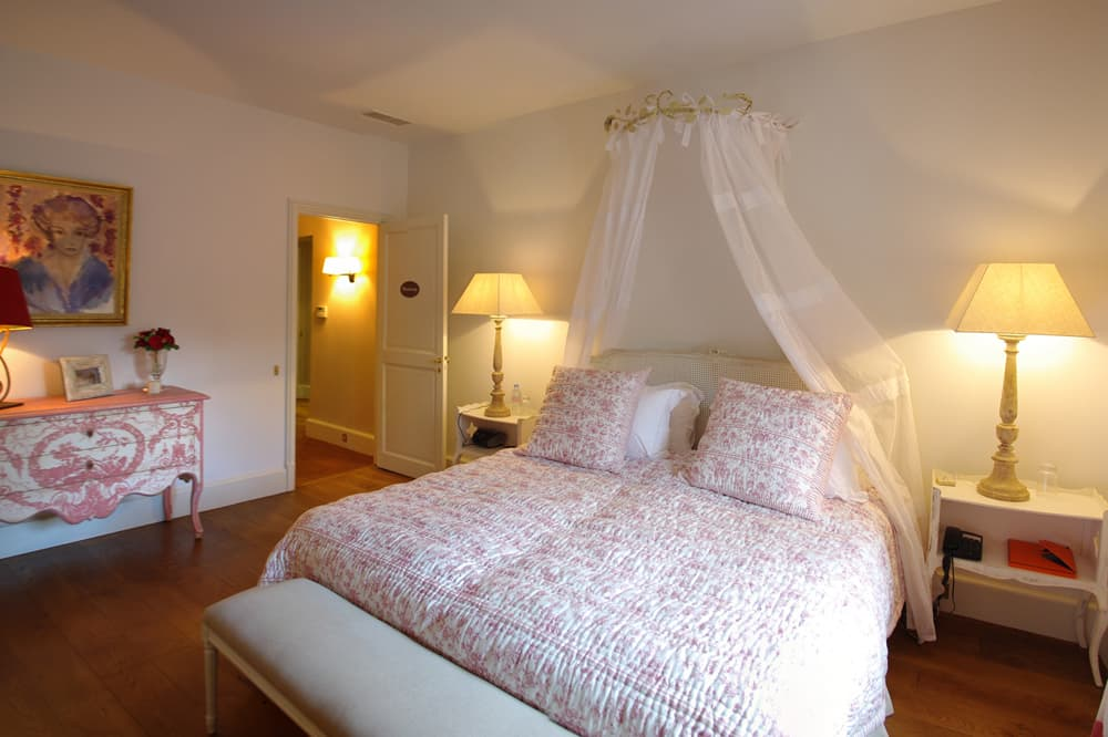Bedroom in Provence rental home