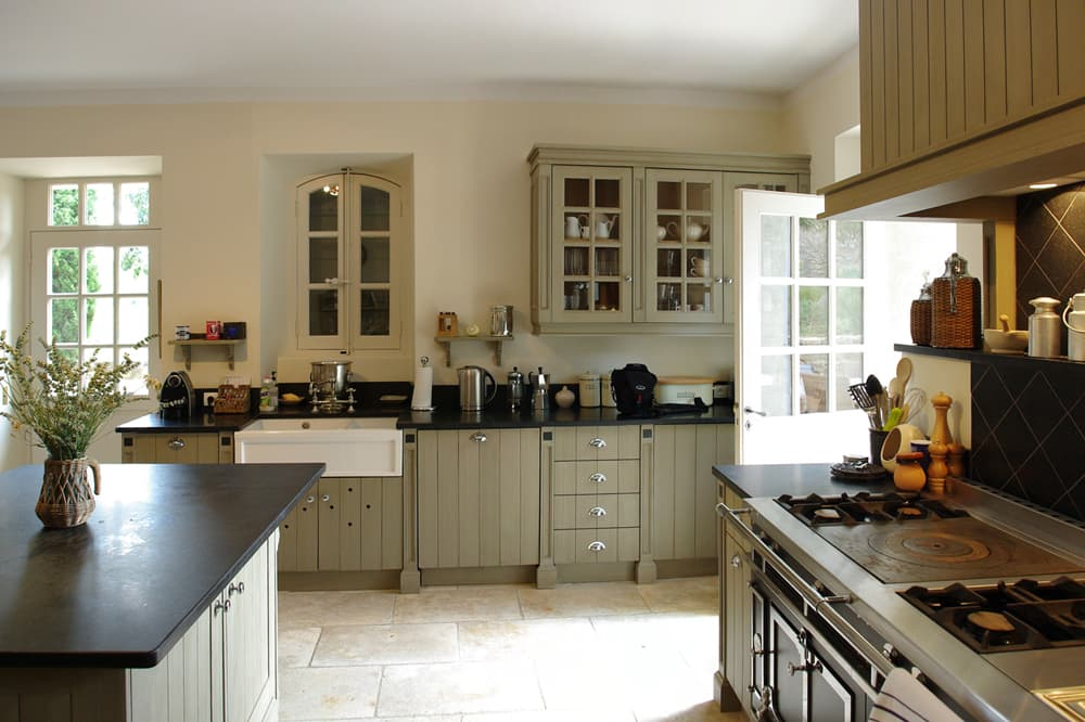 Kitchen in Provence rental home