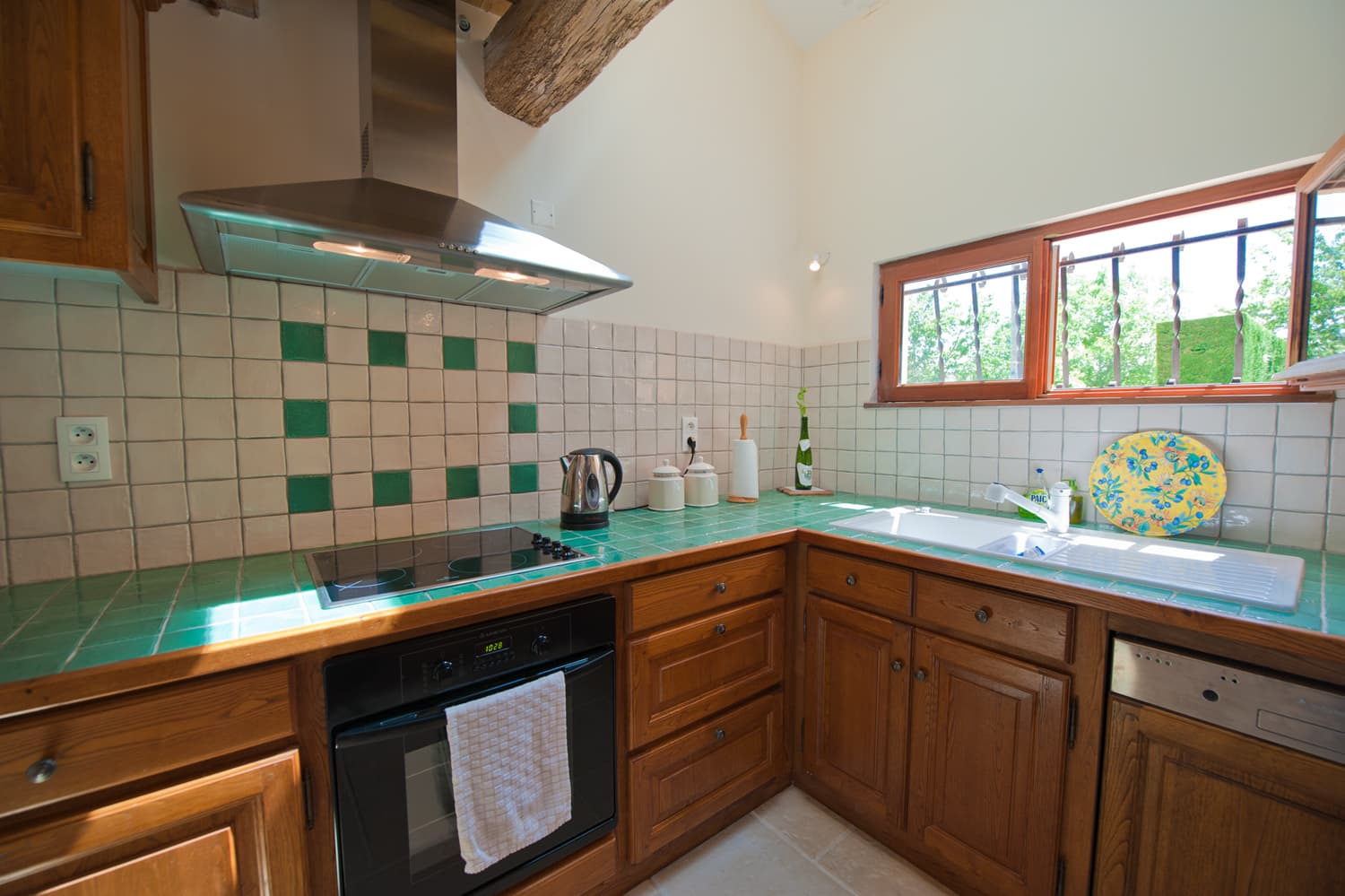 Kitchen in Dordogne holiday villa