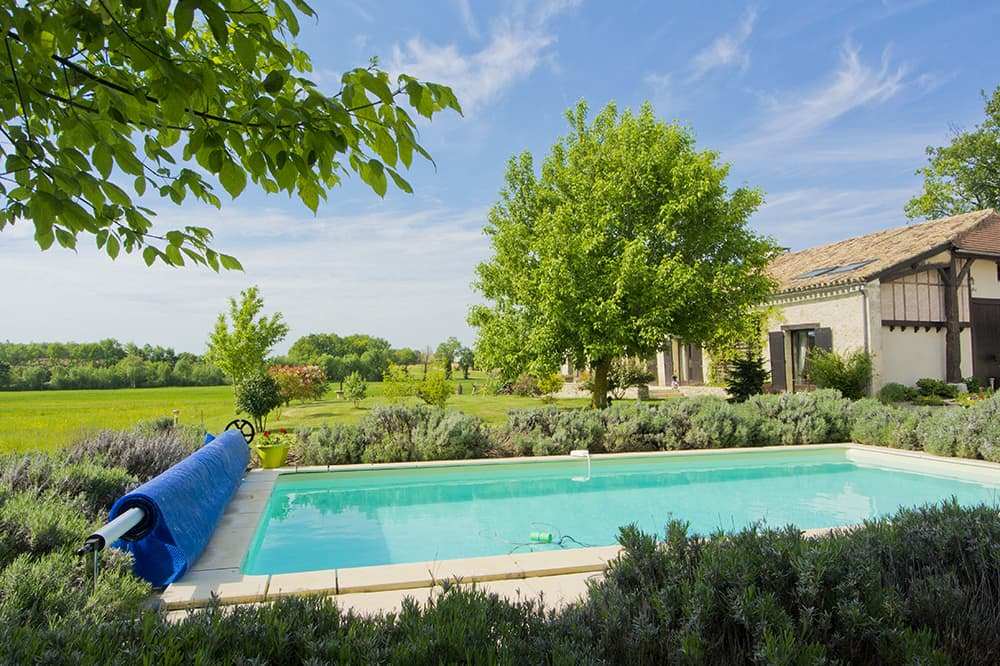 Rental home in Dordogne with private pool