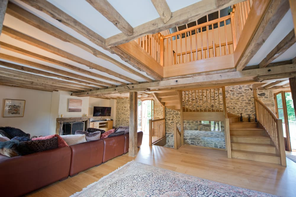 Living room in South West France holiday home