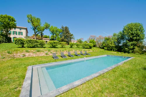 Holiday home in Languedoc with private pool and lawned garden