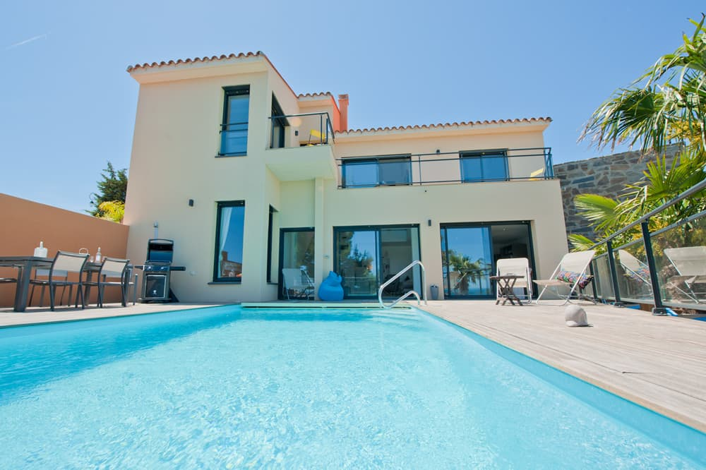 Holiday villa in Collioure with private pool