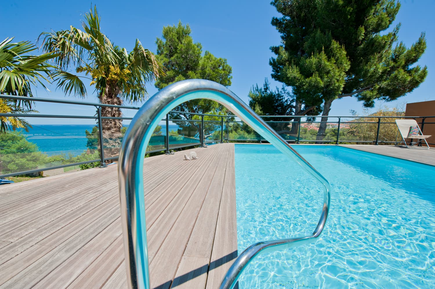 Private pool in Collioure with Mediterranean Sea views in Collioure