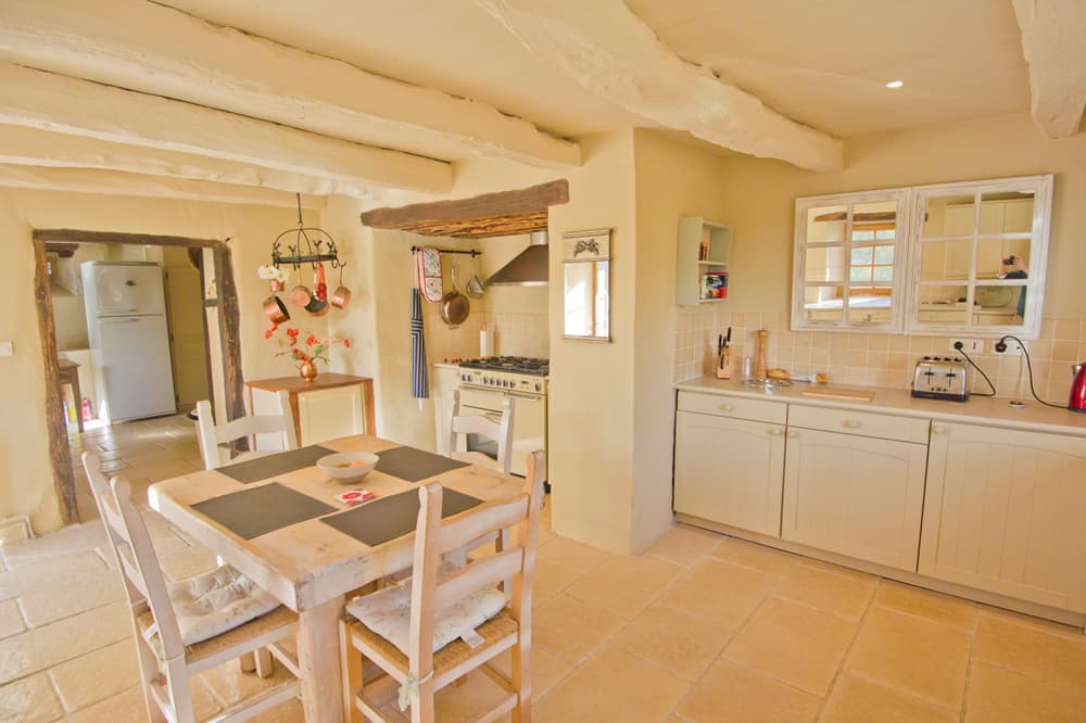 Kitchen in South West France self-catering accommodation