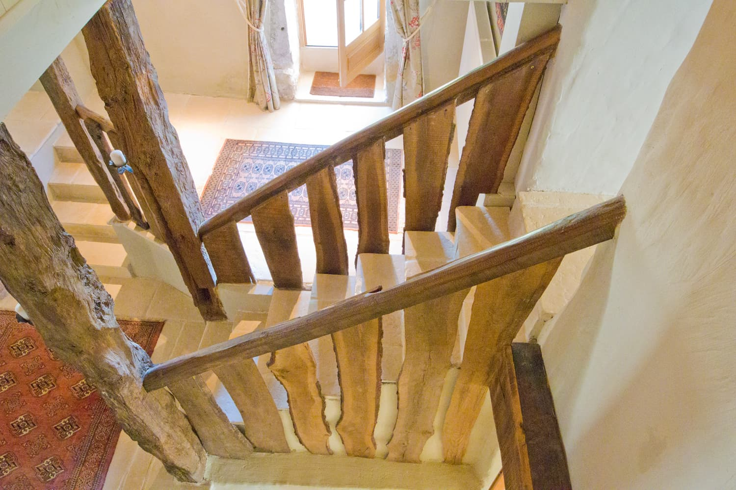 Staircase in South West France self-catering accommodation