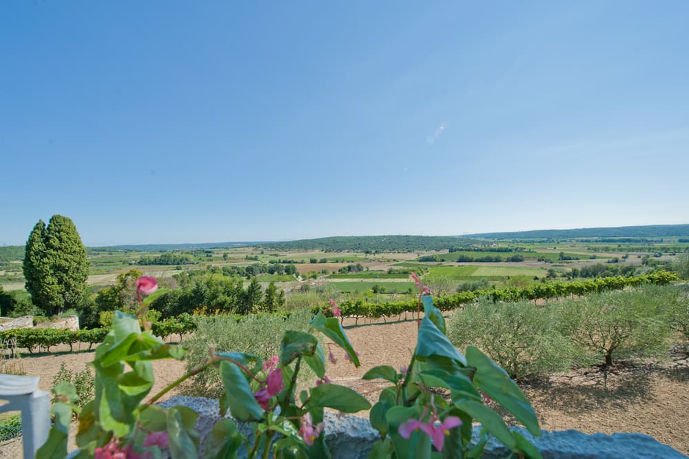 Languedoc countryside views