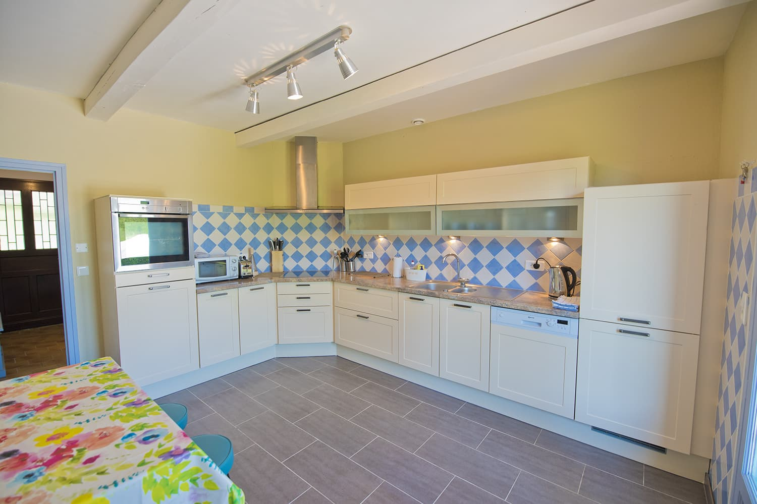 Kitchen in Dordogne self-catering home