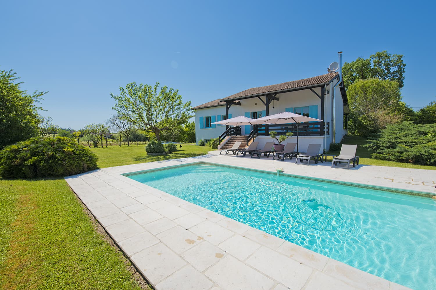 Self-catering home with private pool and terrace