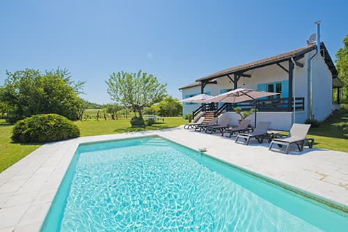 Self-catering home in Dordogne with private pool