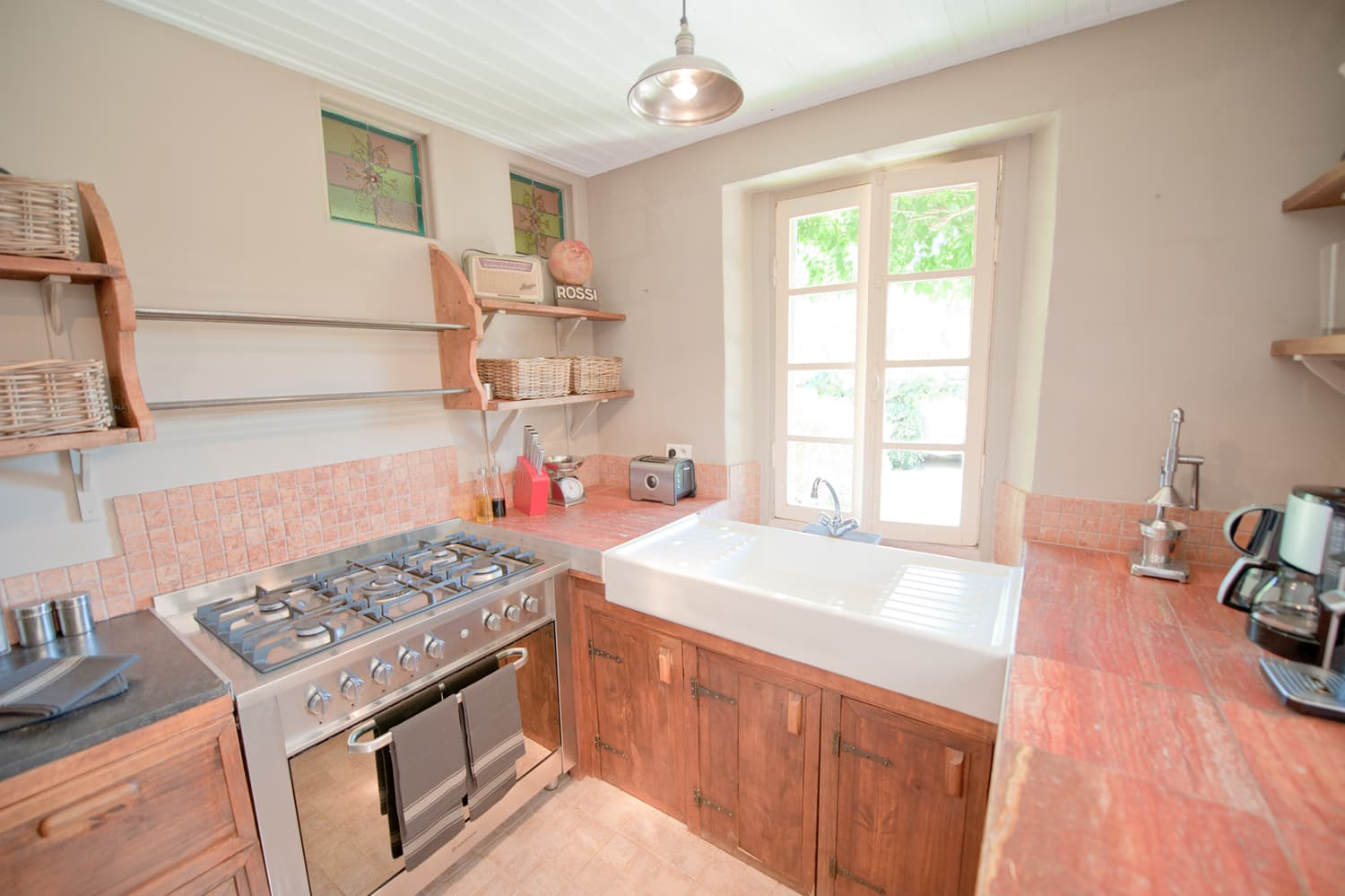 Kitchen in Dordogne rental home