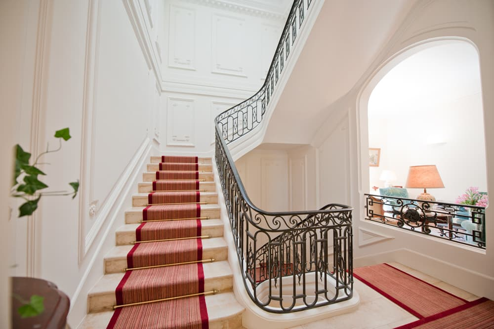 Staircase in Languedoc holiday château