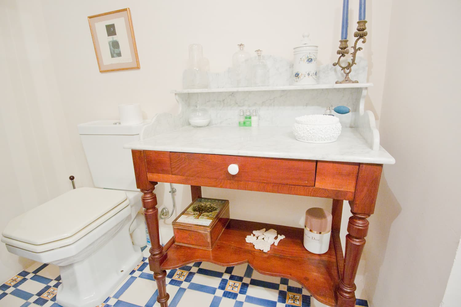 Bathroom in Provence rental accommodation