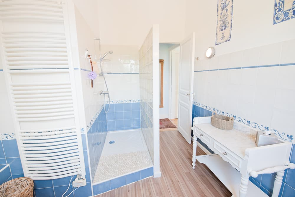 Bathroom in West France holiday home