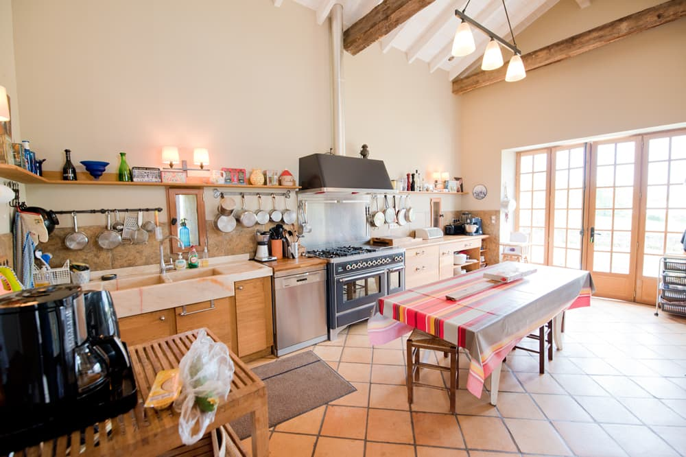 Kitchen in West France holiday home