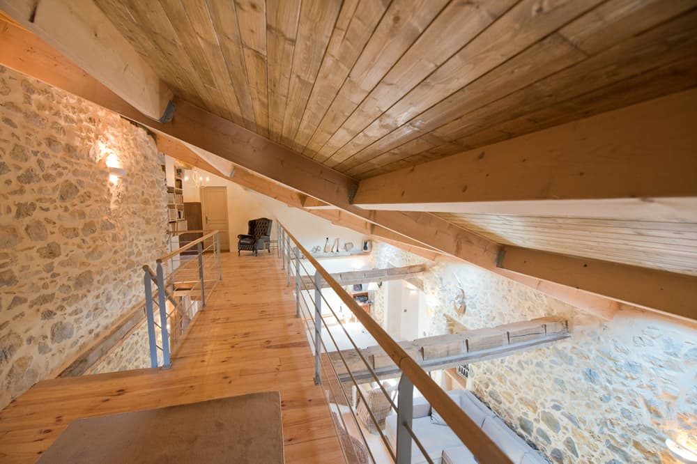 Mezzanine in West France holiday home