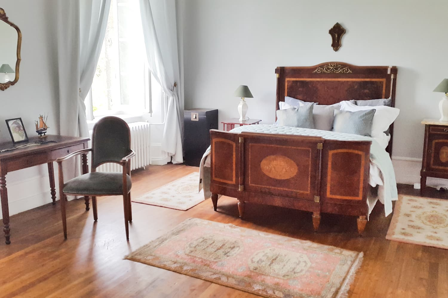 Bedroom in Limousin holiday château