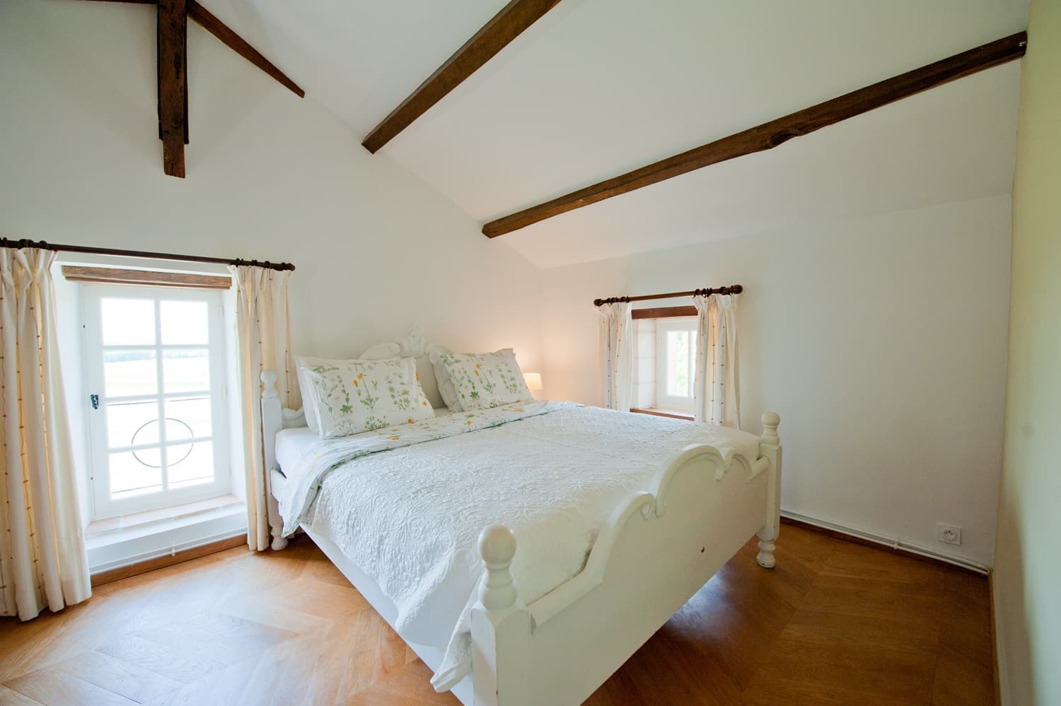 Bedroom in Lot-et-Garonne rental accommodation