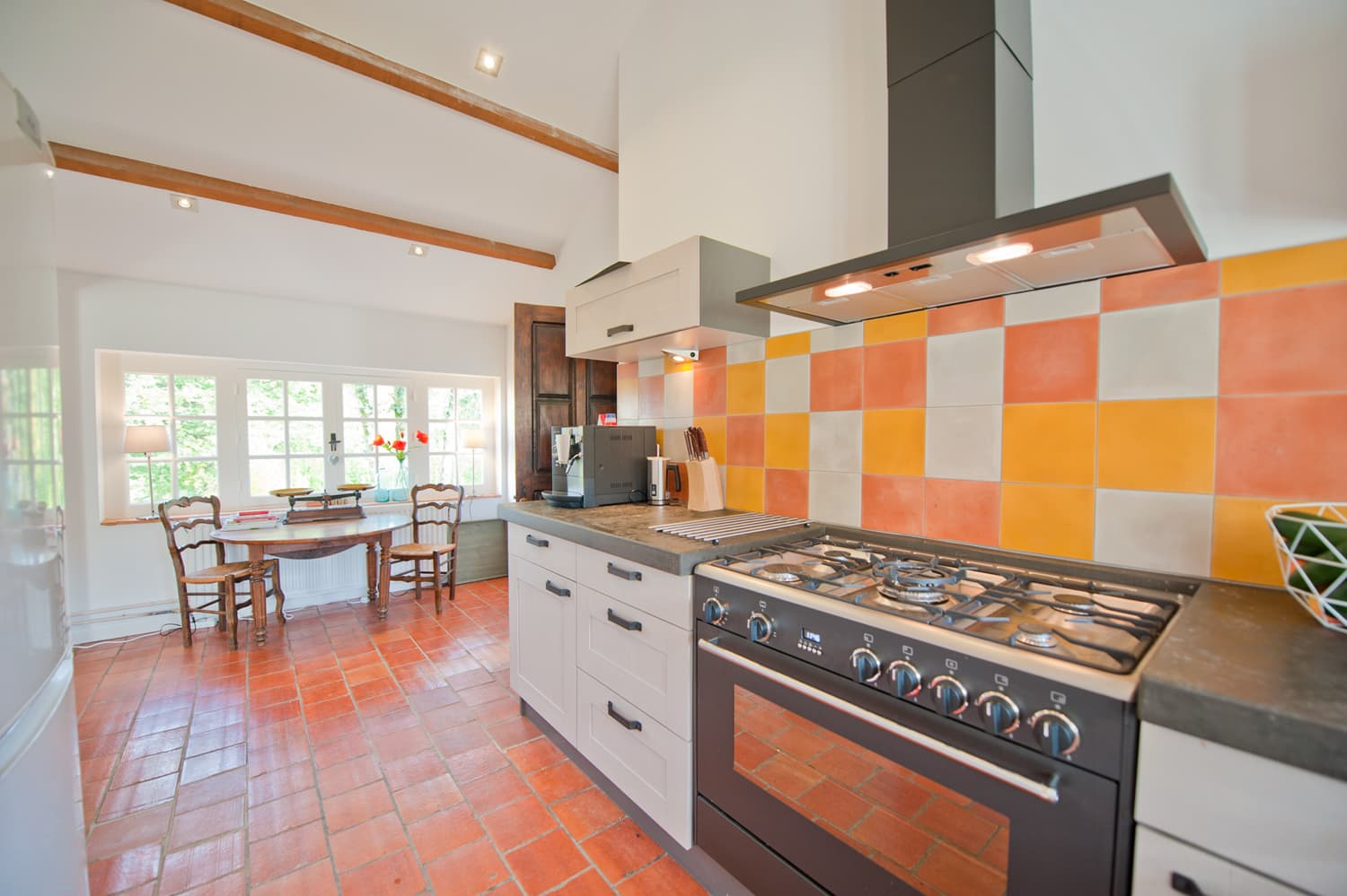 Kitchen in Lot-et-Garonne rental accommodation