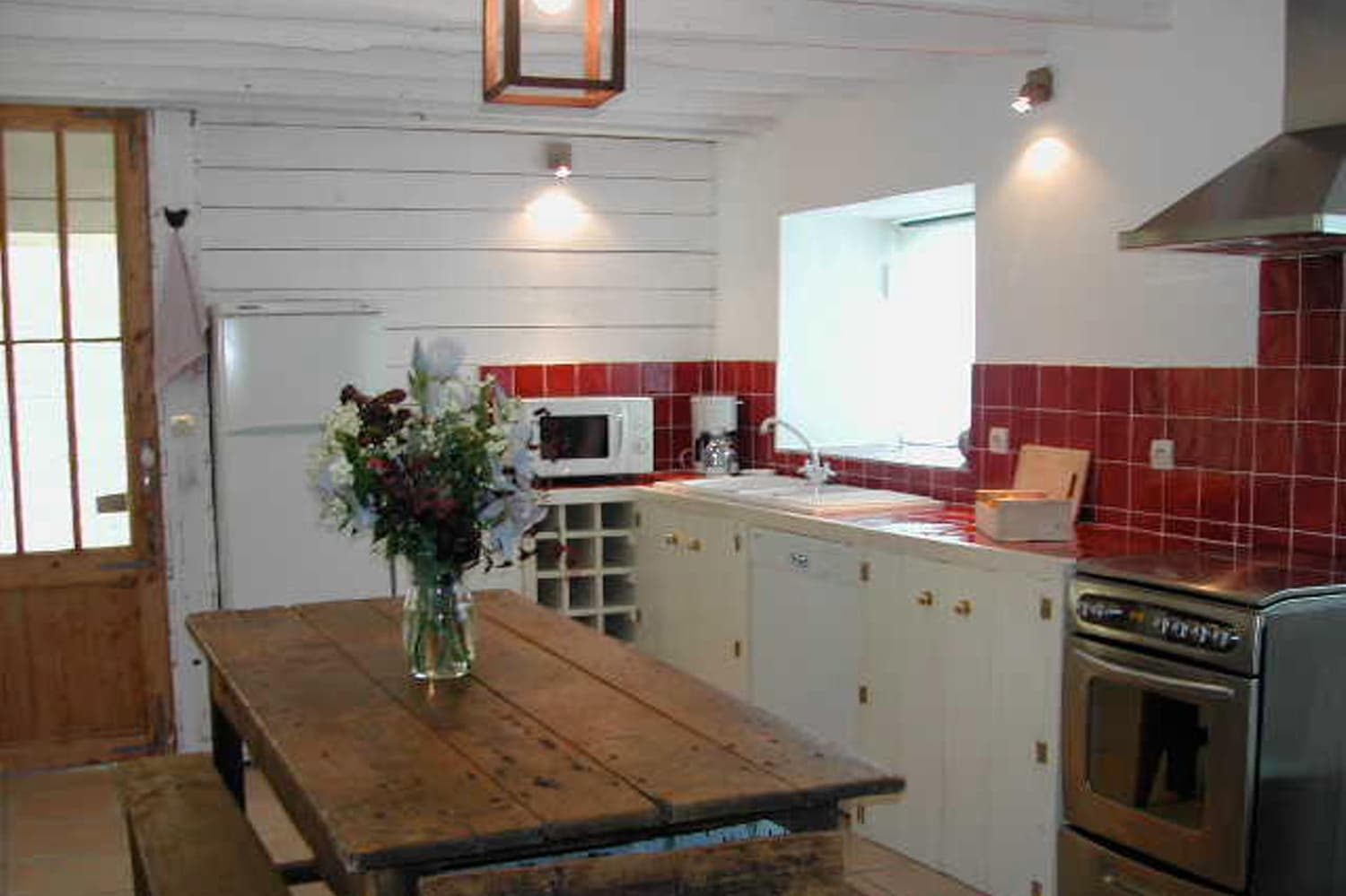 Kitchen in Dordogne self-catering accommodation