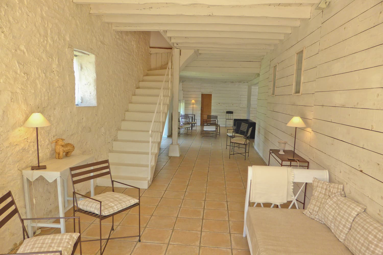 Living room in Dordogne self-catering accommodation