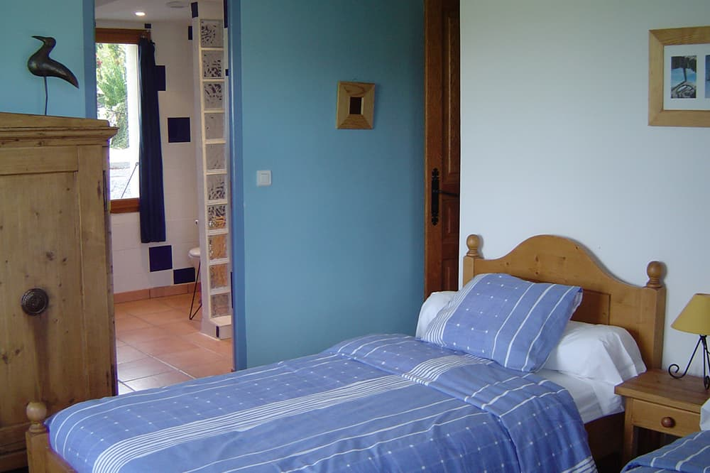 Bedroom in Hautes-Alpes holiday accommodation