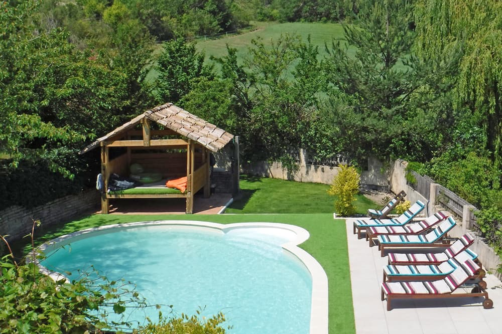 Private pool in Hautes-Alpes, Southern France