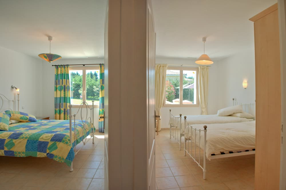 Bedrooms in South West France holiday villa