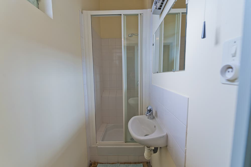 Bathroom in South West France holiday accommodation