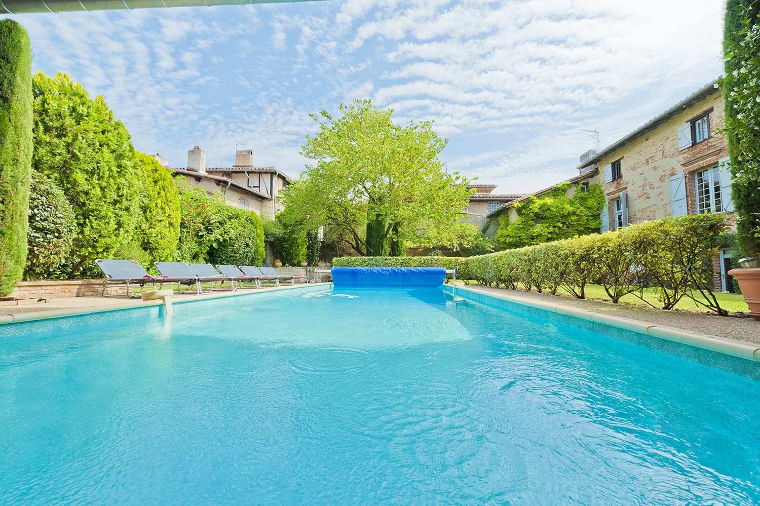 Private pool in Lisle-sur-Tarn