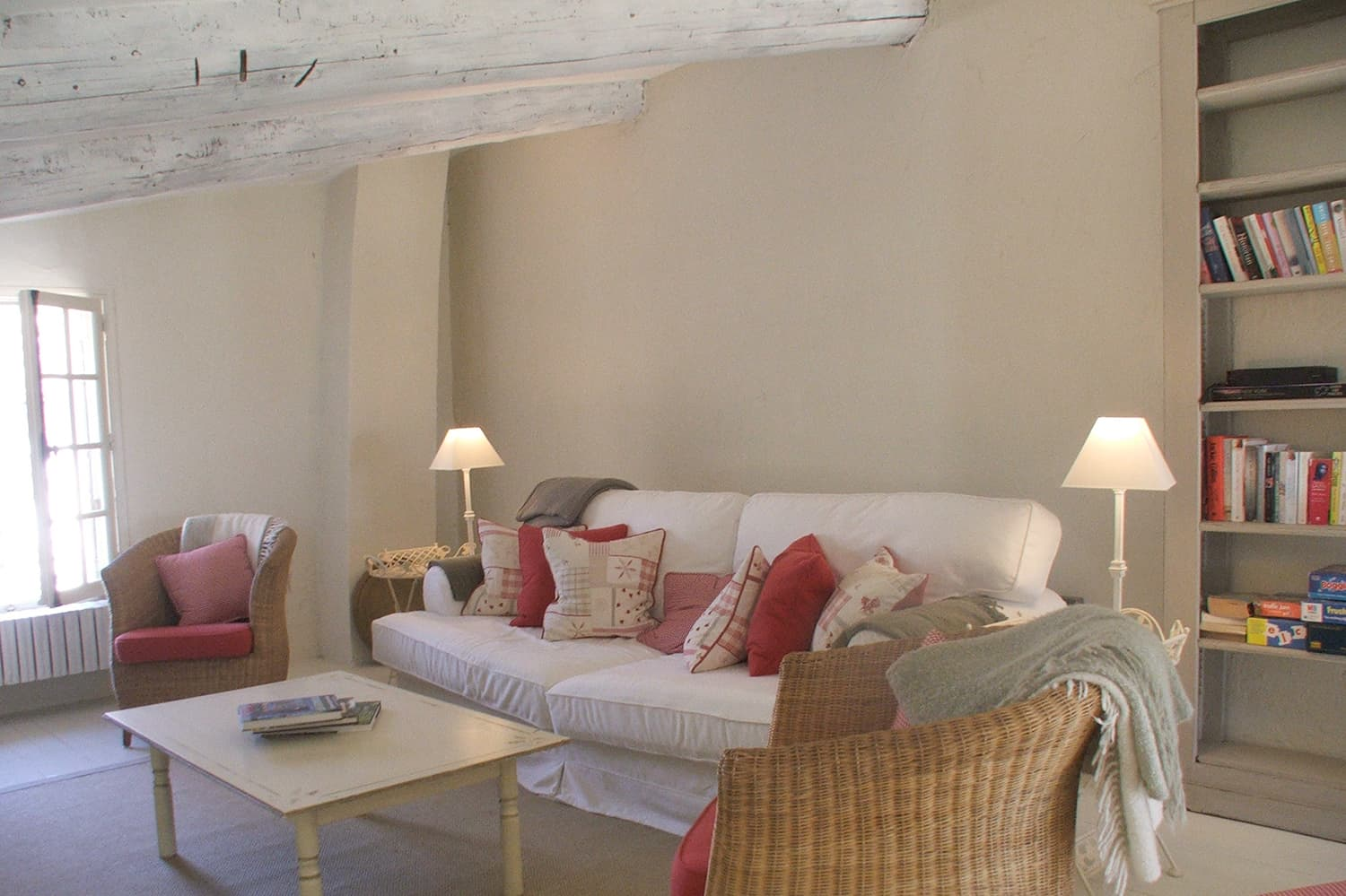 Living room in Provence holiday accommodation