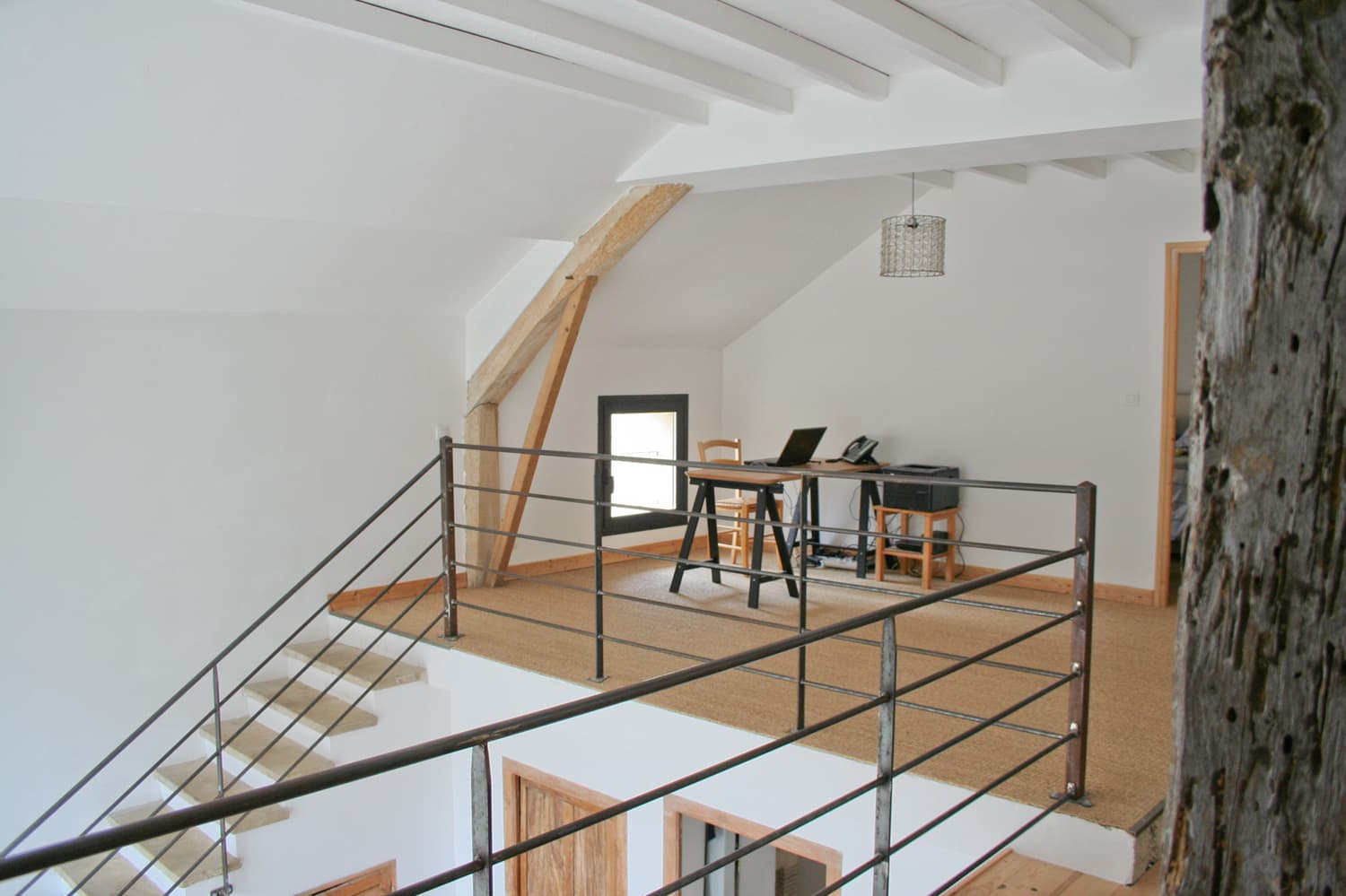 Mezzanine in South West France holiday home