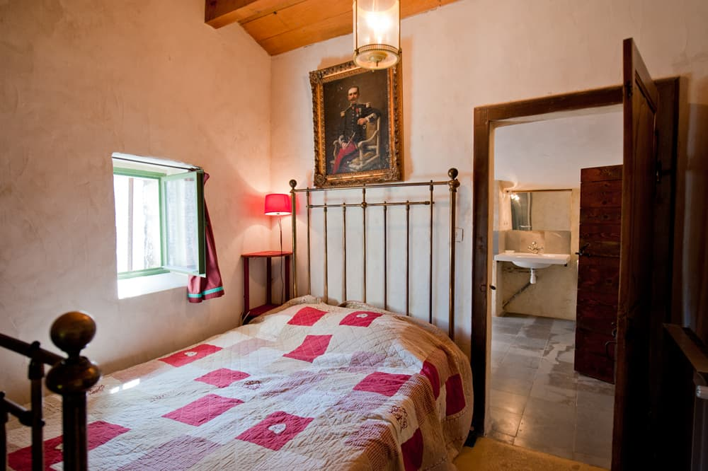 Bedroom in Languedoc rental home
