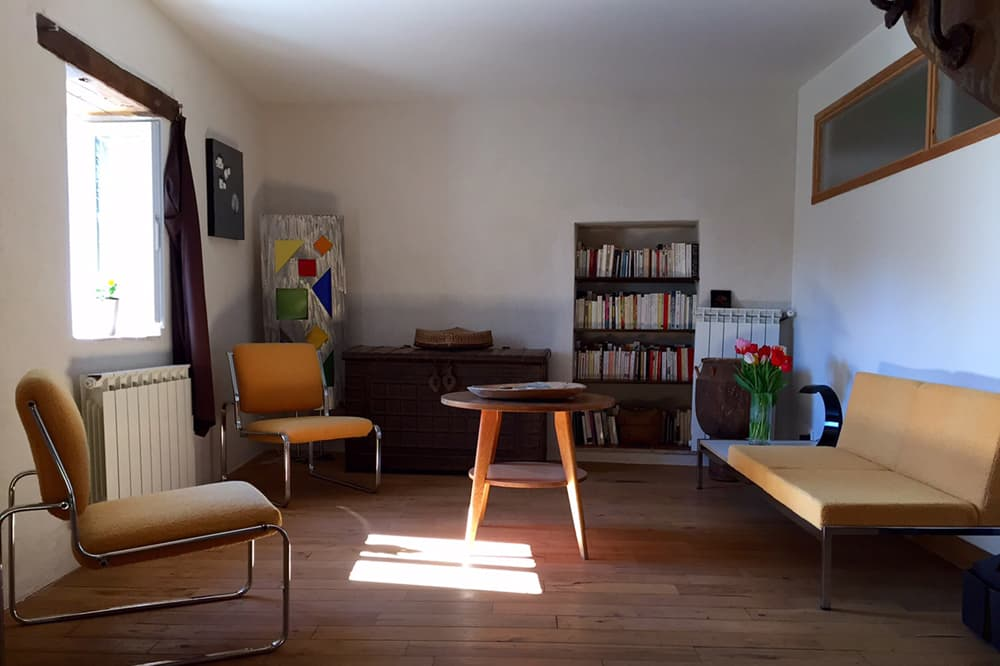 Living room in Languedoc rental home
