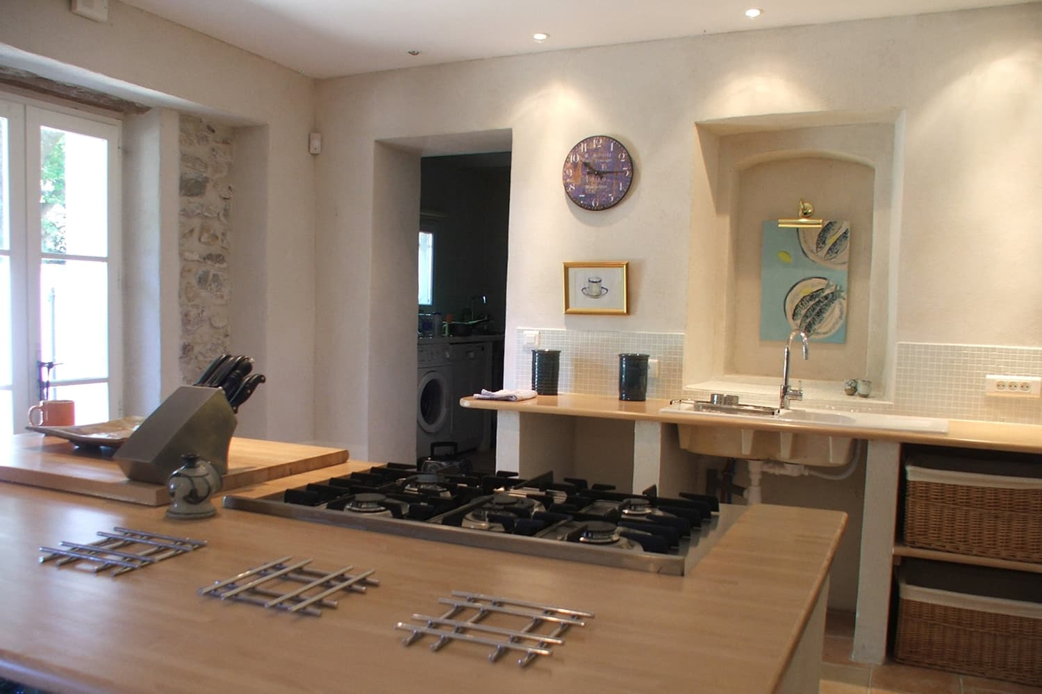 Kitchen in Boisset-et-Gaujac, Occitanie holiday accommodation