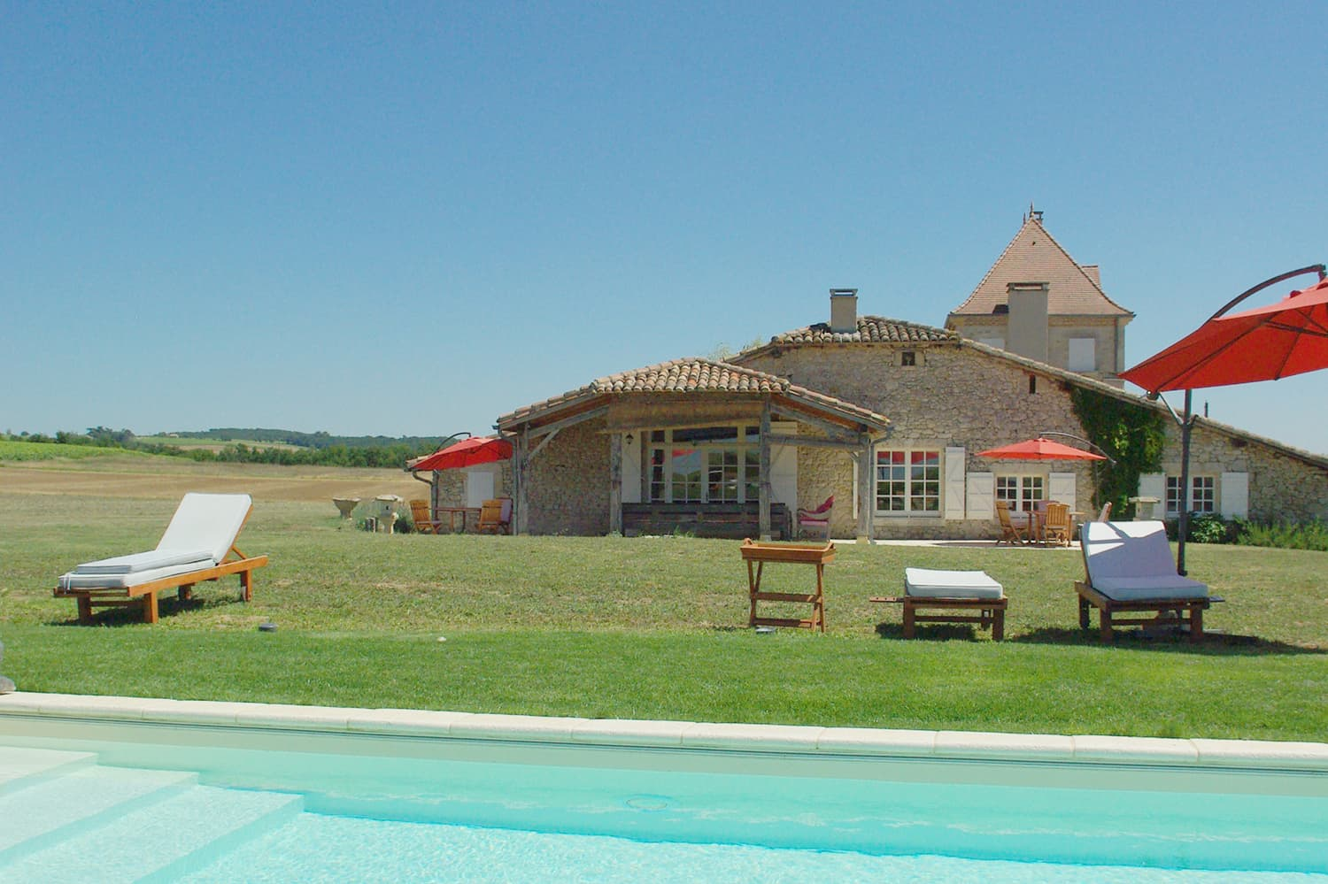 Holiday home in South West France with private pool