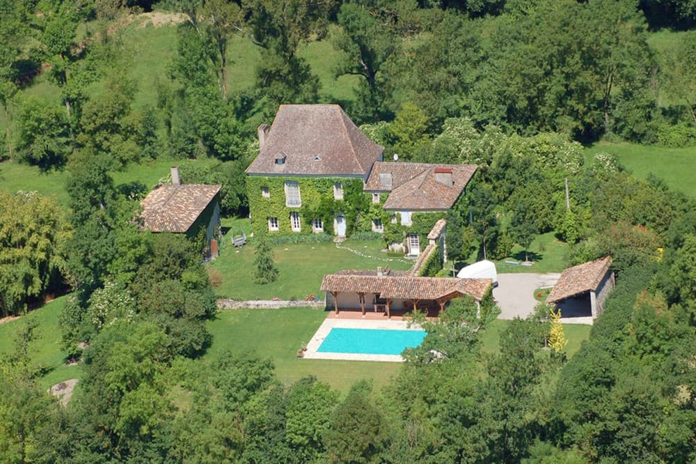 Rental home in South West France with private, heated pool