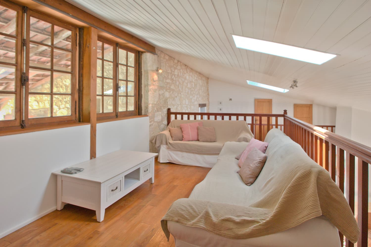 Mezzanine in South West France holiday accommodation