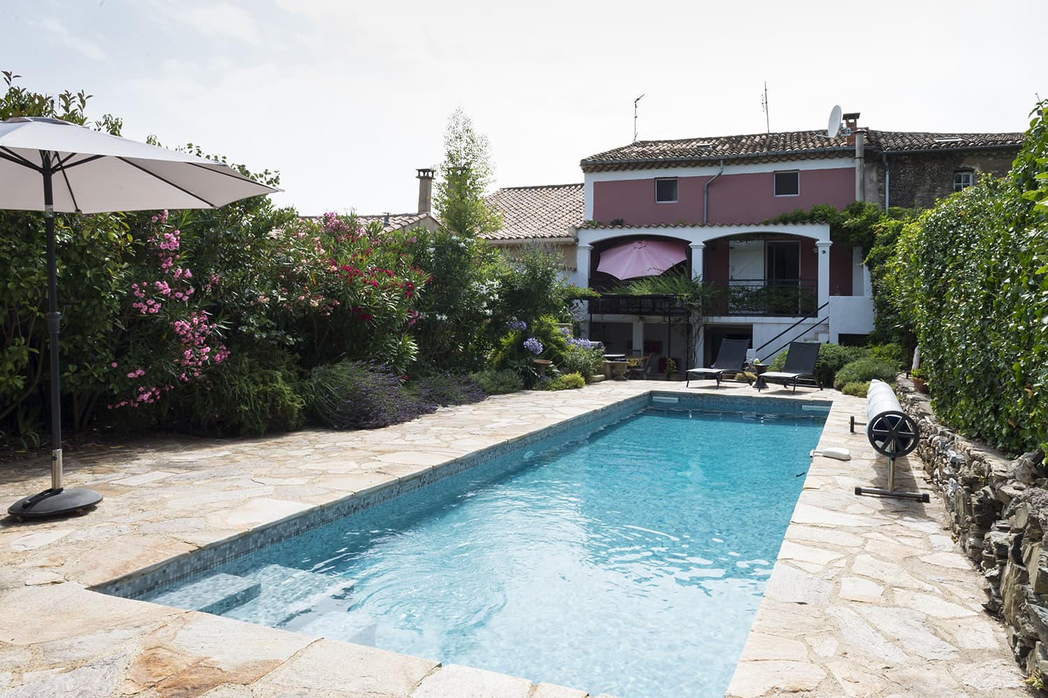Holiday home in Faugères, Occitanie with private pool