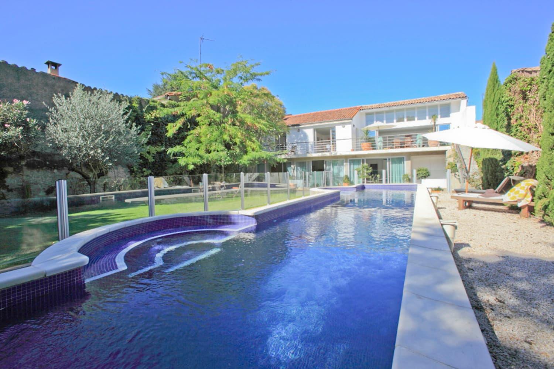 Maison de vacances dans le Languedoc avec piscine privée