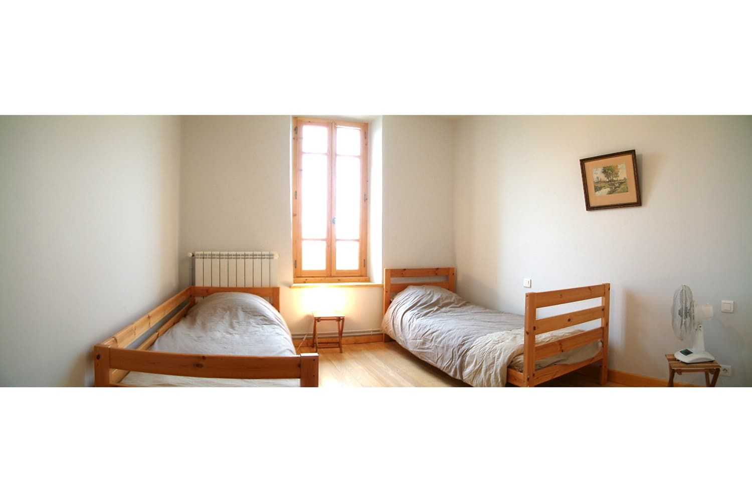 Bedroom in Occitanie holiday accommodation