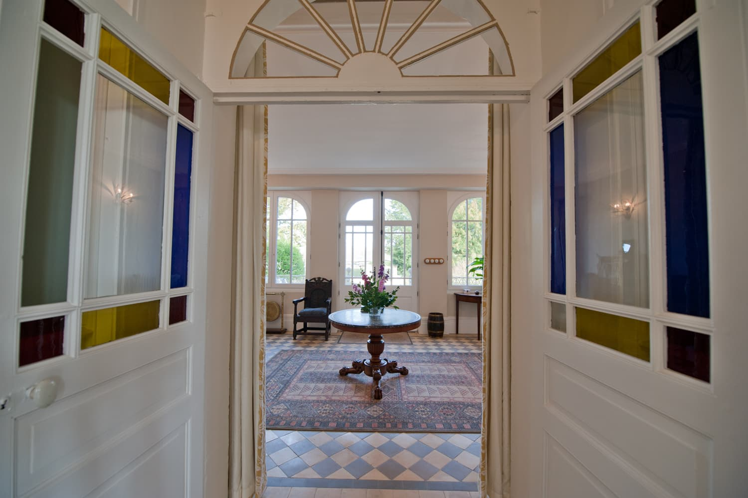 Entrance hall in Dordogne holiday home