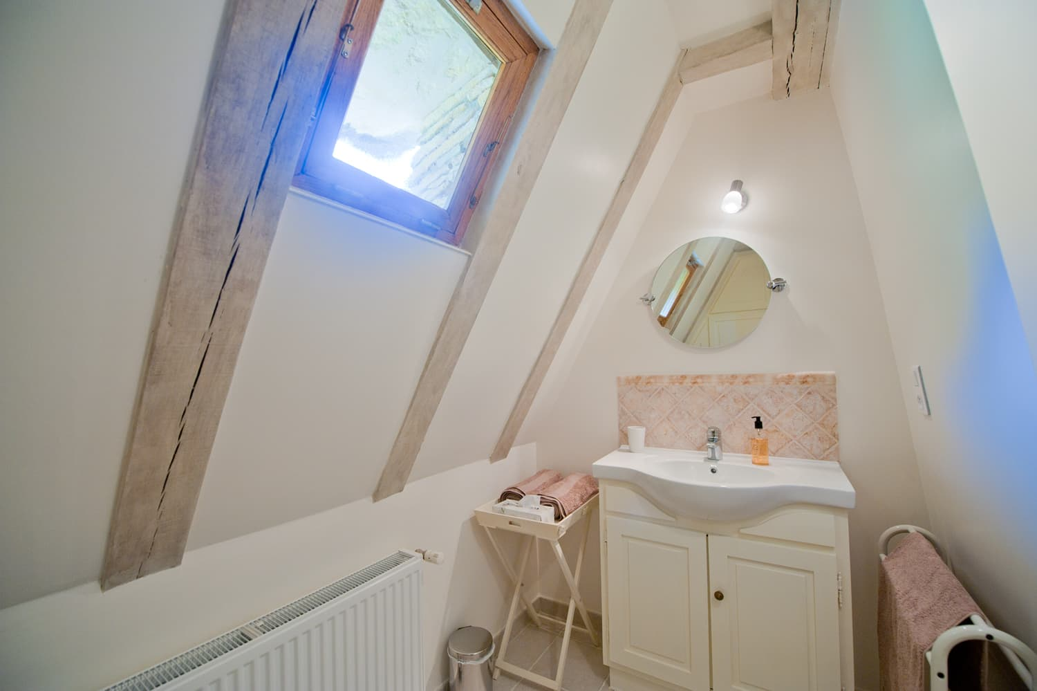 Bathroom in Dordogne rental cottage