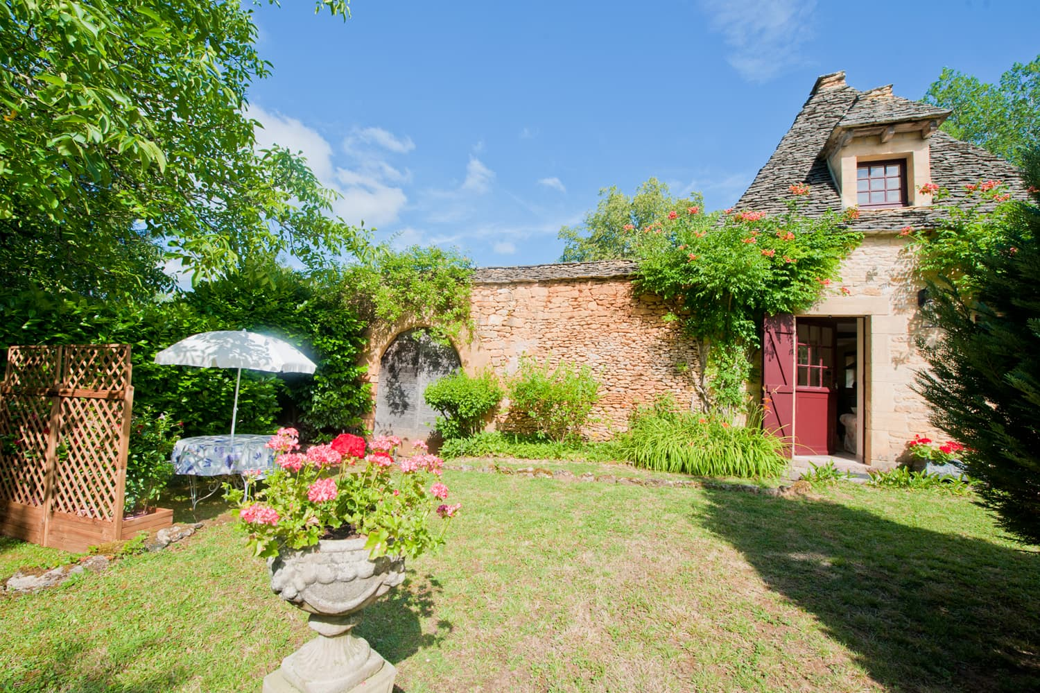 Rental cottage in Dordogne